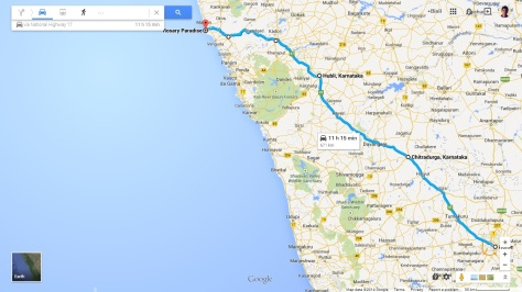 Bangalore to Tarkarli via Swantwadi
